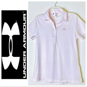 UNDER ARMOUR Short Sleeve Golf T-SHIRT Tee Top